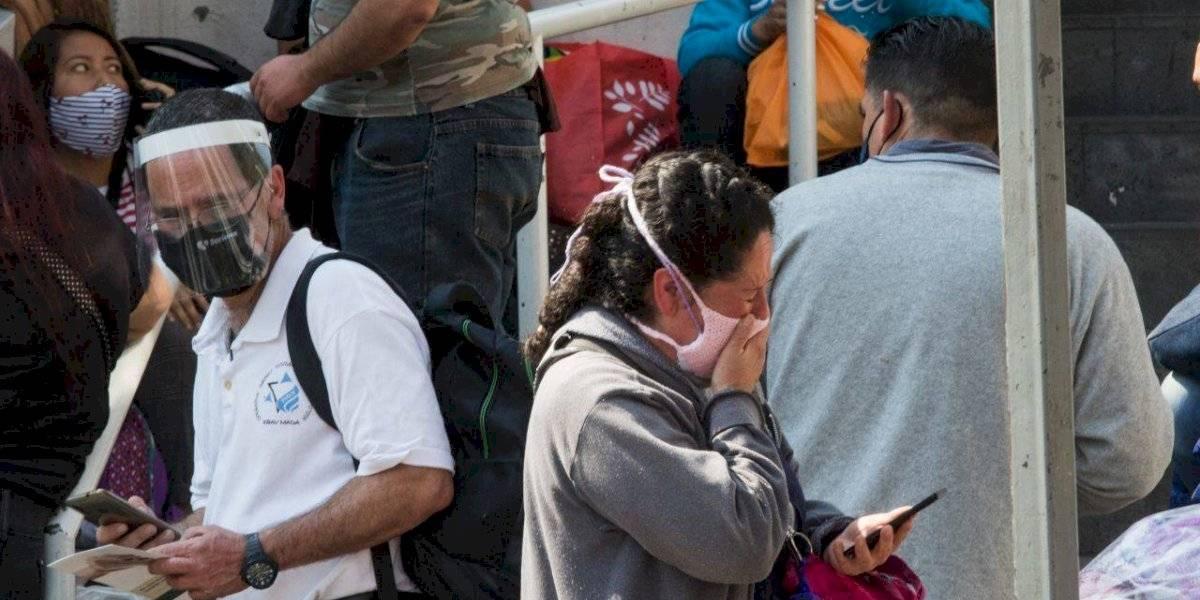 México suma 20 mil 548 casos y mil 539 muertes por Covid-19 en un día
