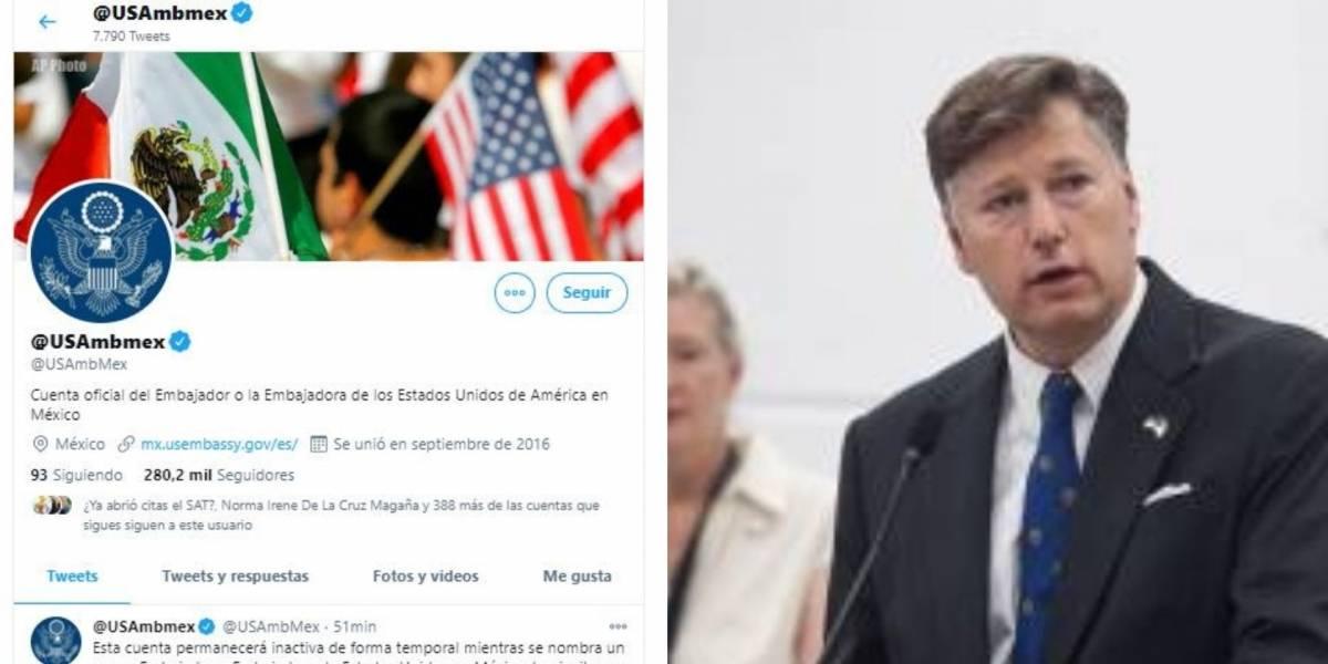 Embajada de EU en México se renueva ante llegada de Biden a la presidencia