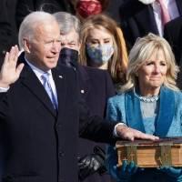 Joe Biden jura el cargo y se convierte en el presidente número 46 de Estados Unidos