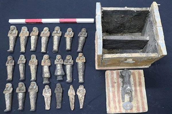 Continúan los descubrimientos en Egipto.