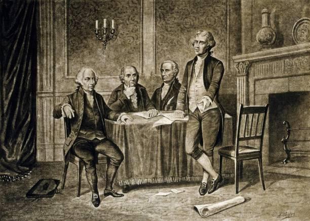 John Adams y Thomas Jefferson.