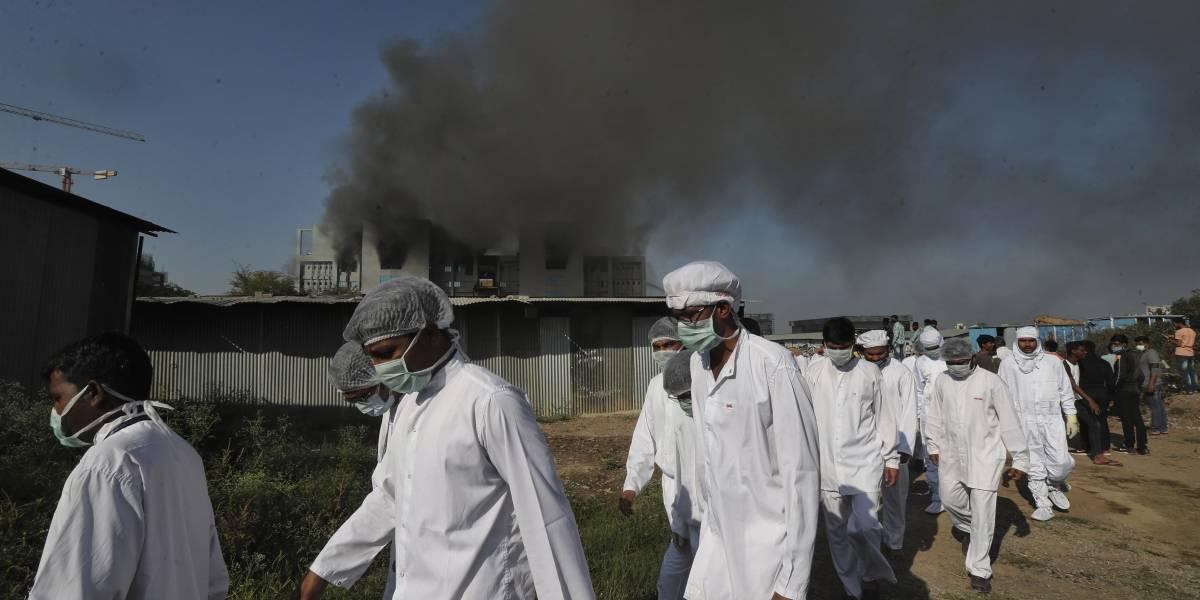 Incendio afecta al mayor fabricante de vacunas del mundo