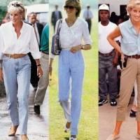 Os looks informais com que Lady Di nos deu aulas de estilo e que ainda são tendência