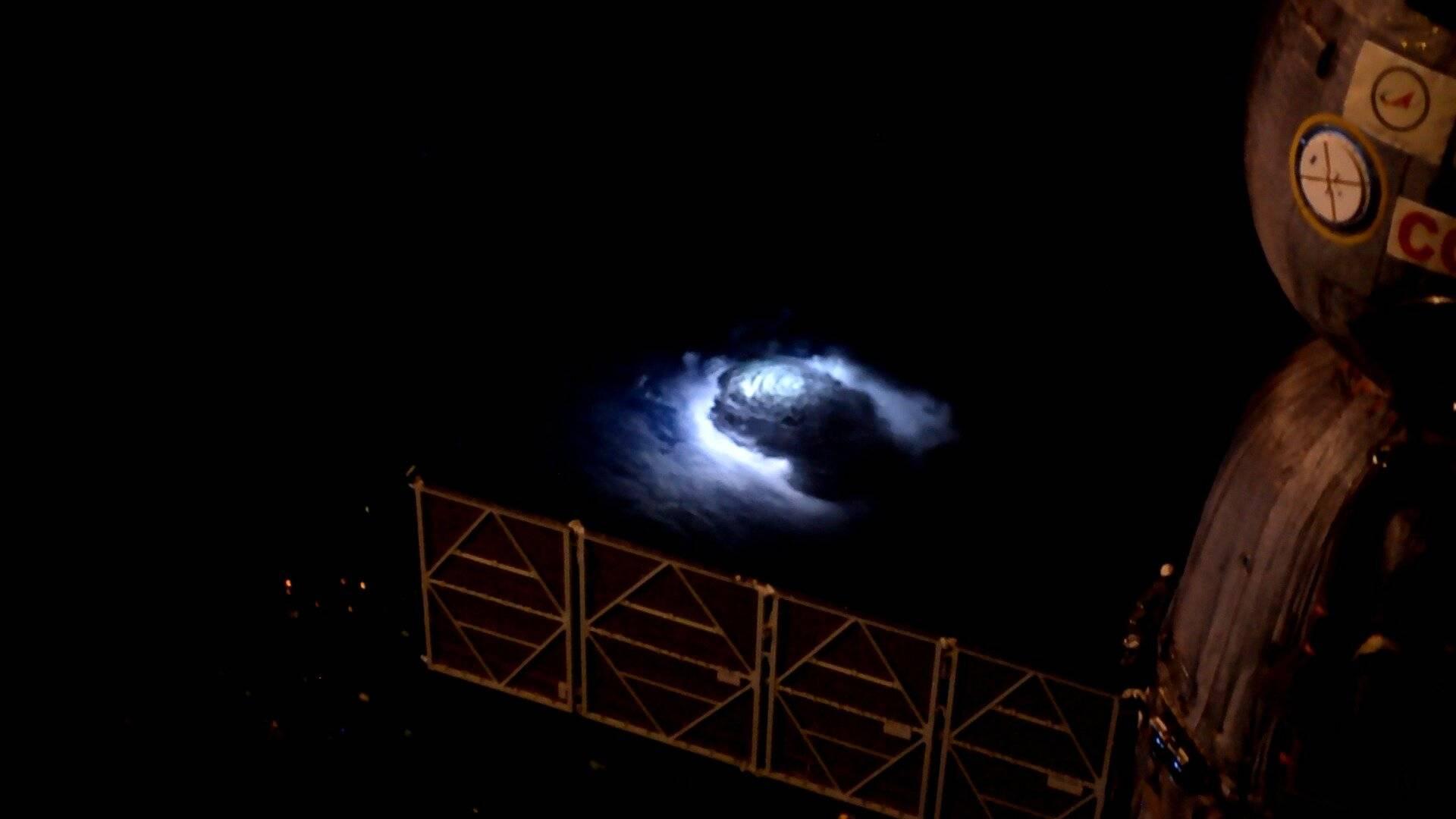 Chorros Azules captados por la ESA