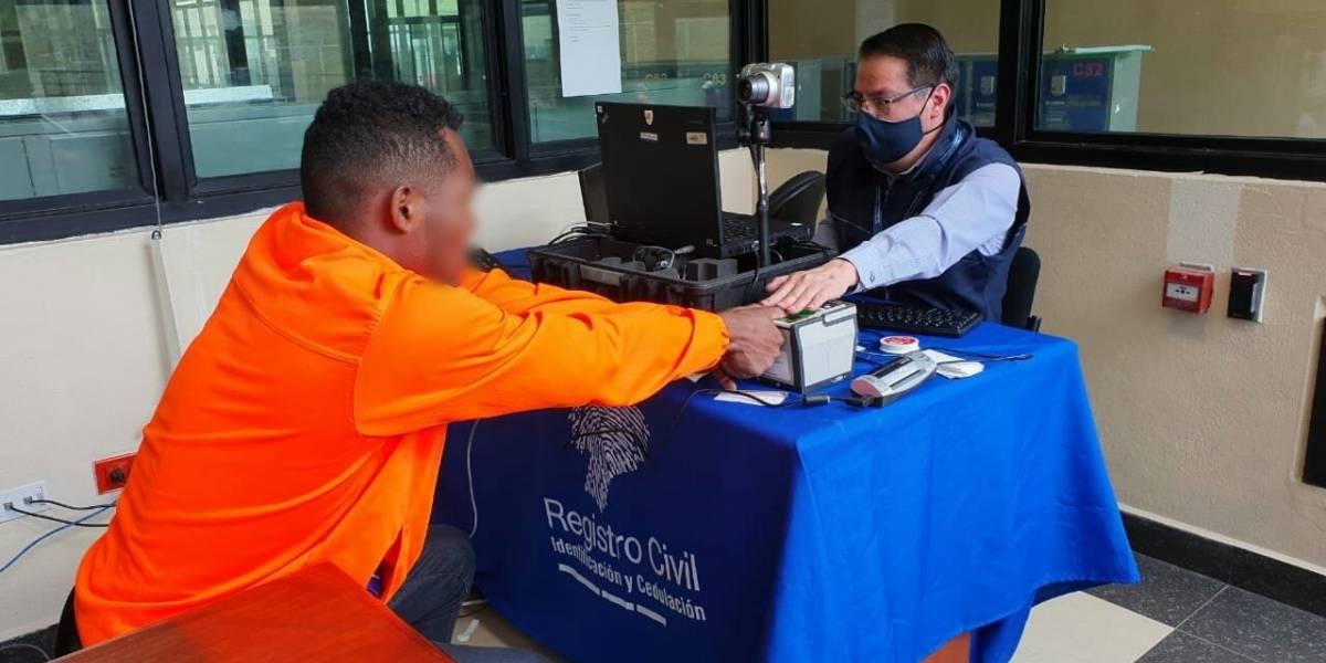 Registro Civil entregó cédulas a PPL en el CRS Turi