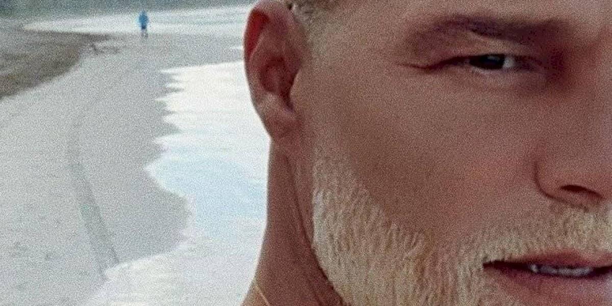 Ricky Martin sorprende al teñir su barba de rubio