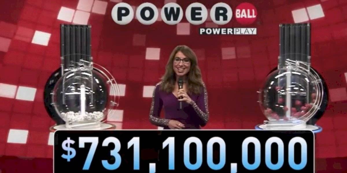 Se llevan los $731 millones del Powerball en Maryland
