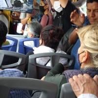 Imposible sana distancia en transporte público de León: arroja encuesta de OCL