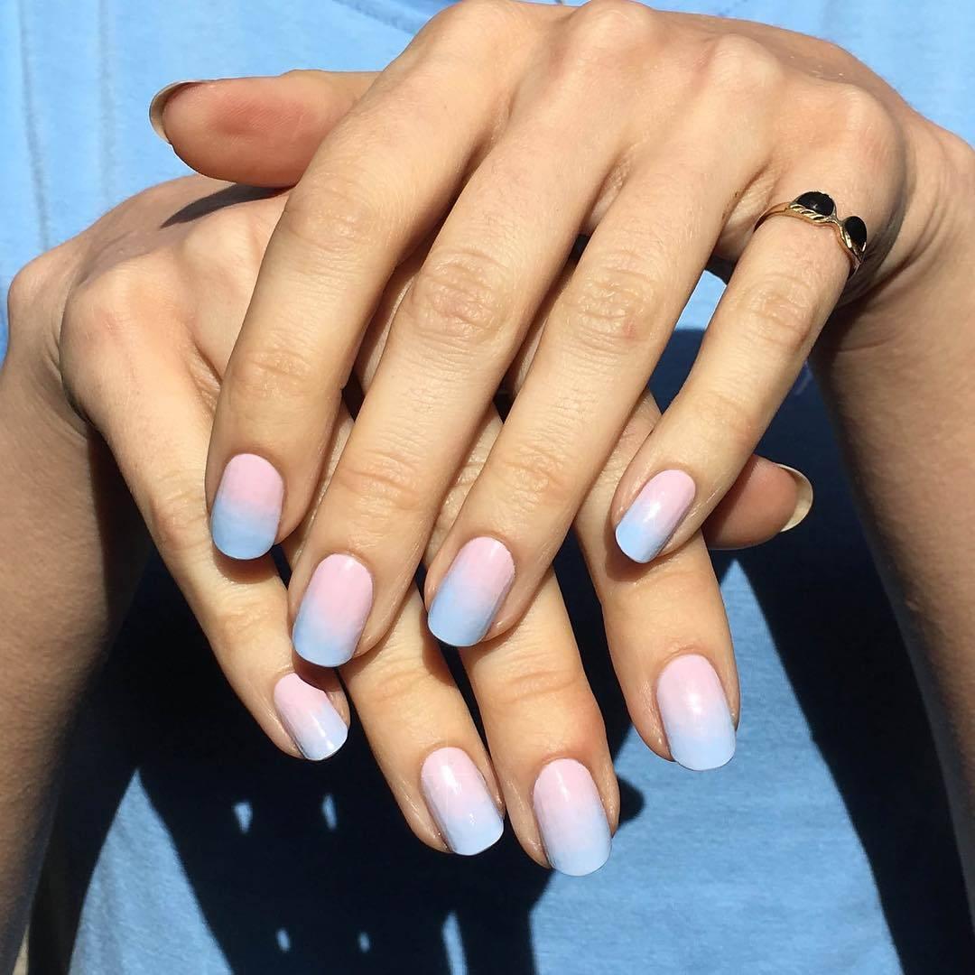 diseños de uñas ombré elegantes