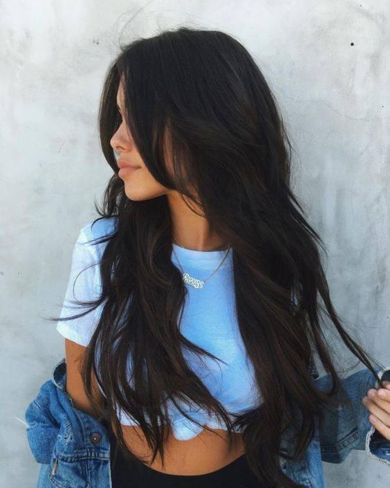 cortes de cabello en capas cara redonda