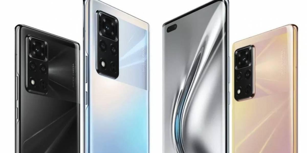 Honor anuncia el V40, su primer celular después de ser vendidos por Huawei, y sí, tiene servicios de Google
