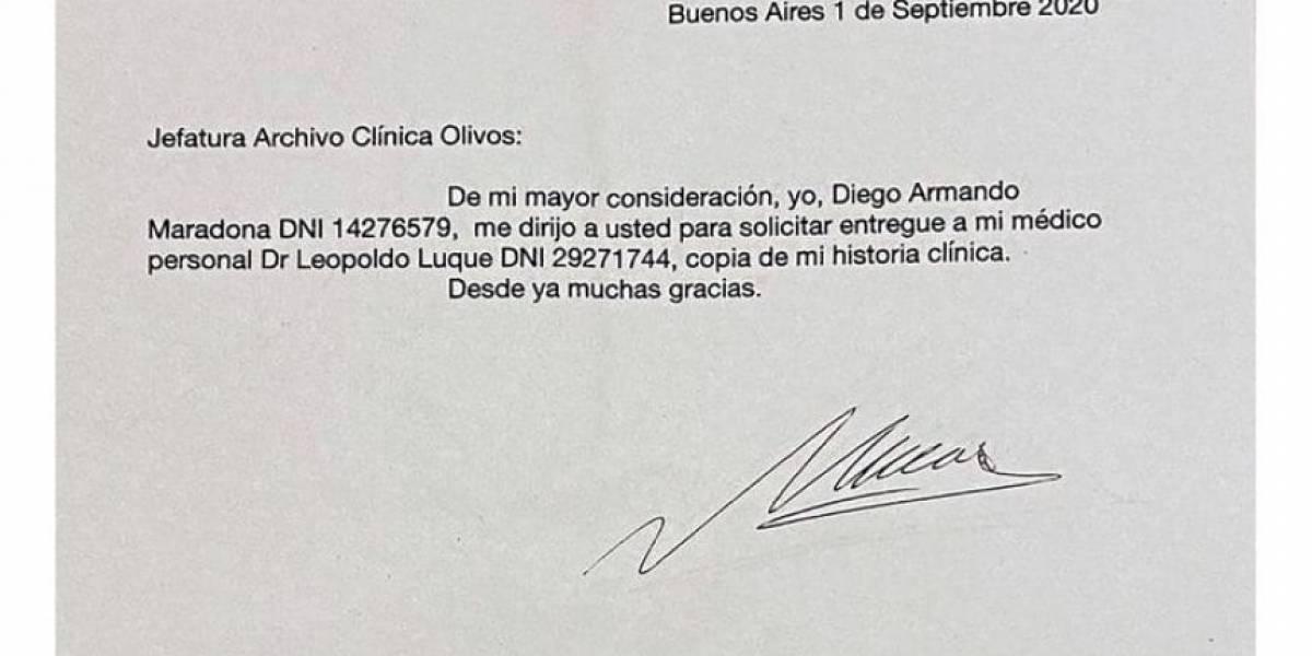 Leopoldo Luque falsificó la firma de Diego Maradona, ¿cuál fue la razón?