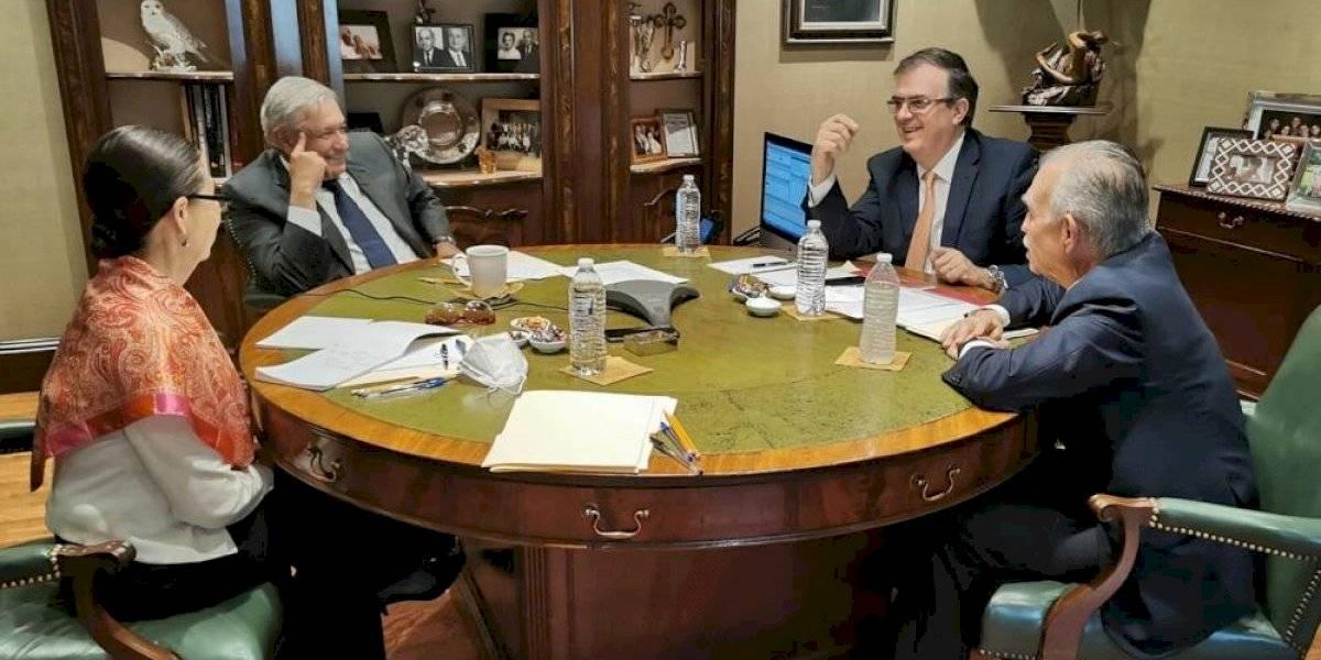 AMLO plantea a Joe Biden trabajar juntos para desarrollo y bienestar de México y EU