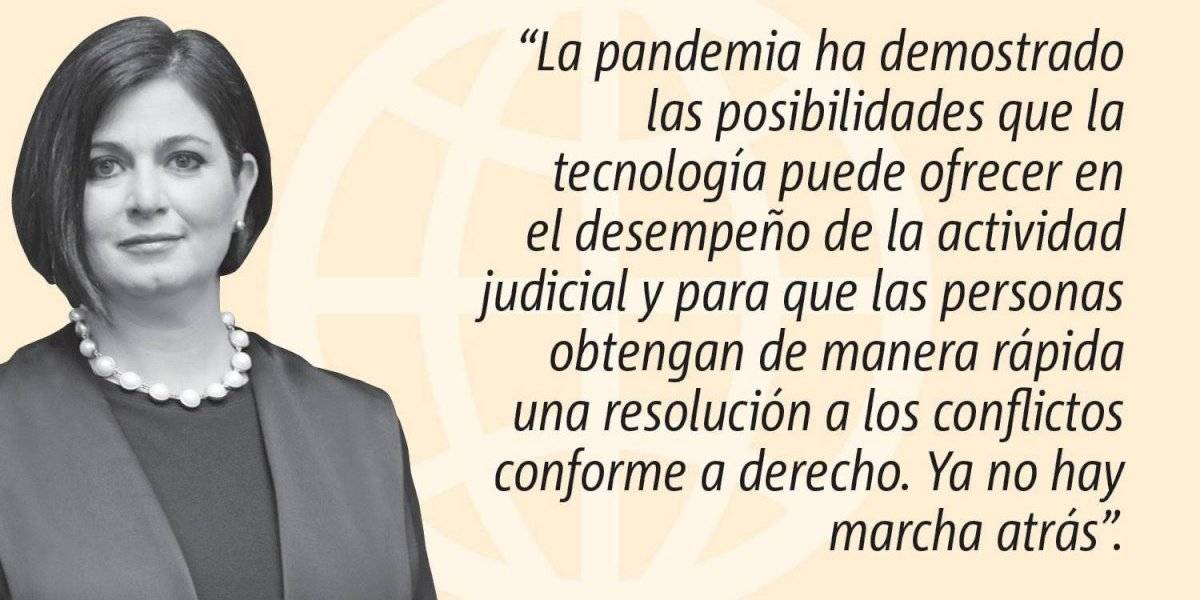 Opinión de Maite Oronoz: La Tecnología al servicio de la Justicia