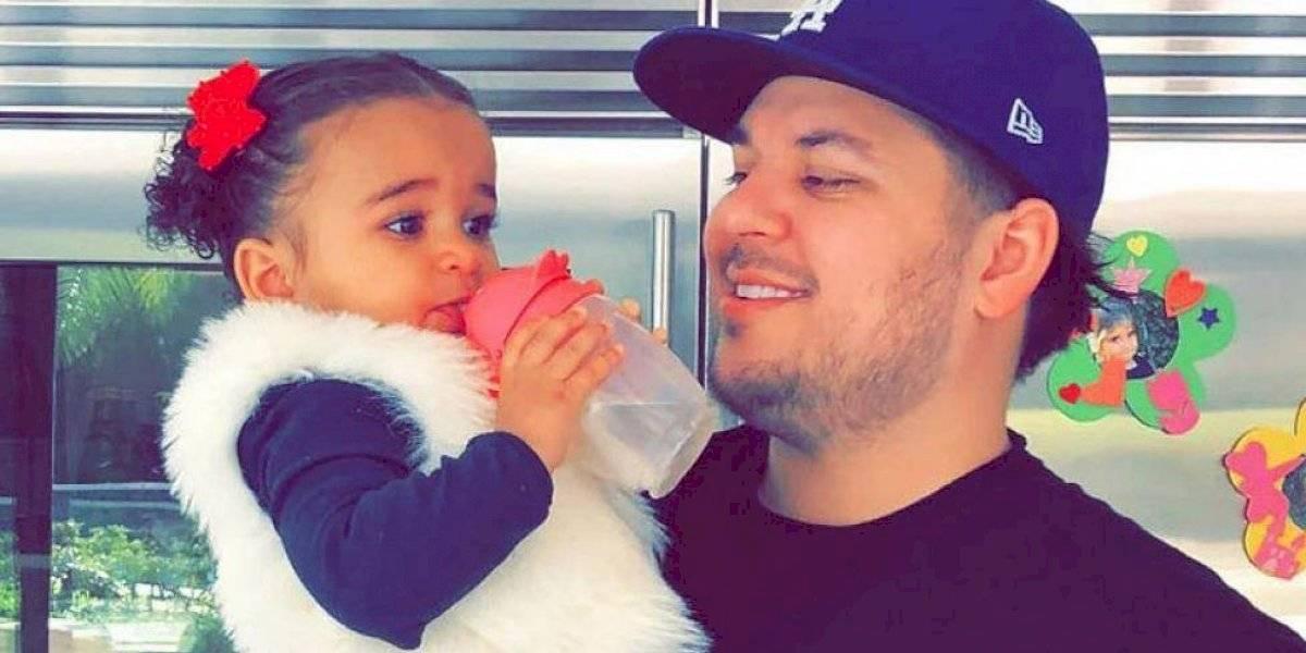 La hija de Rob Kardashian promete ser la próxima estrella de la familia con tan dulces fotografías