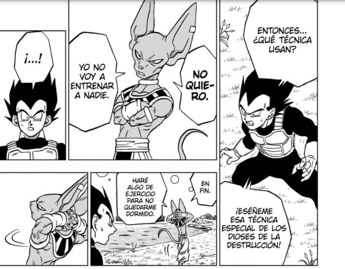 Vegeta y Bills