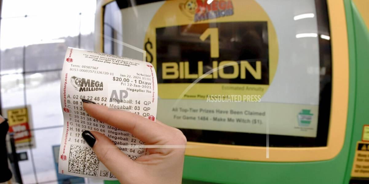 Ganan premio de 1,000 millones de dólares en lotería en Estados Unidos