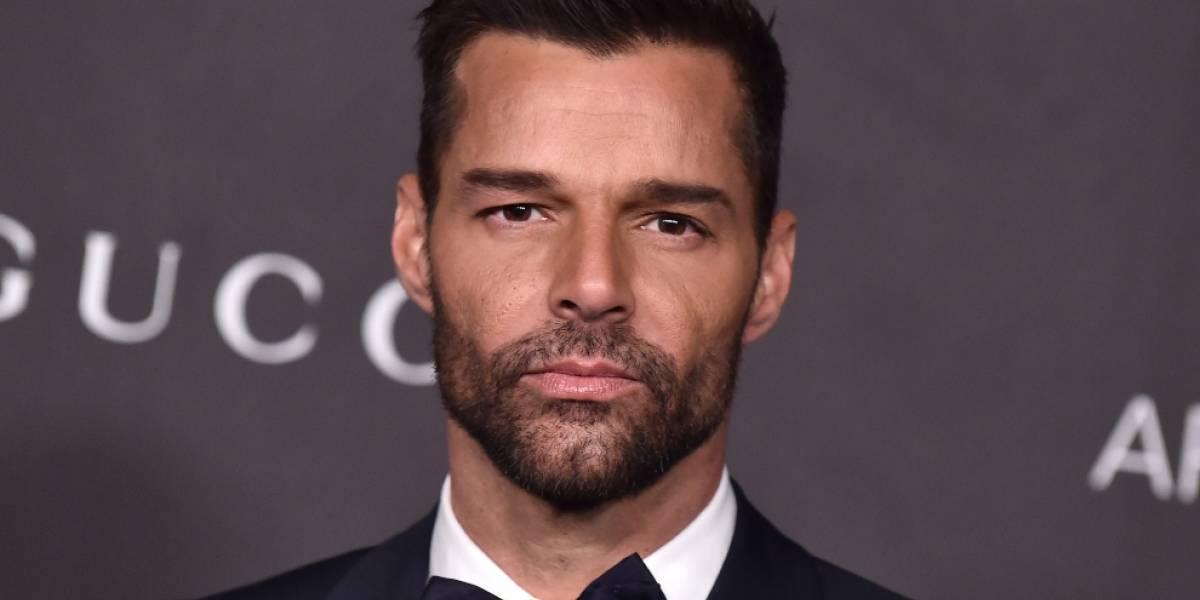 Ricky Martin sorprendió con un original cambio de look