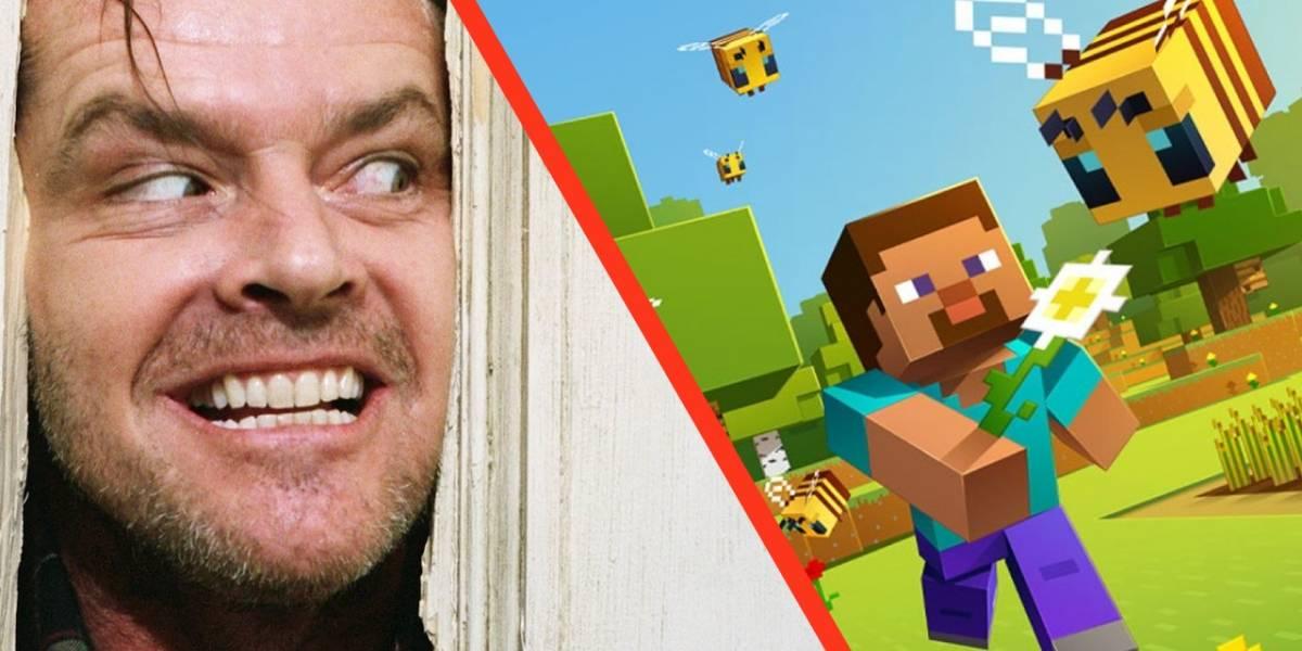 Minecraft esconde una muy curiosa referencia a la película El Resplandor