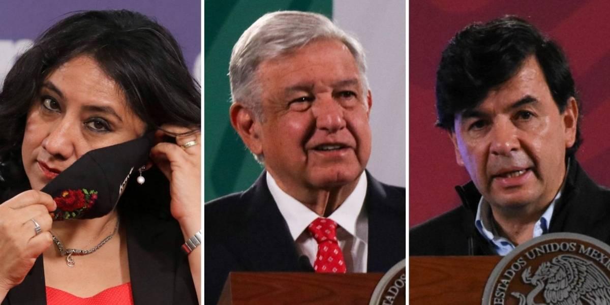 López Obrador y otros funcionarios contagiados de Covid-19