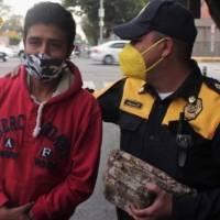 Policía capitalino se ganó un ascenso, encontró 30 mil pesos y los devolvió a su dueño