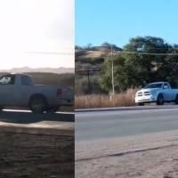 Detienen camioneta durante persecución en Sonora; le poncharon las llantas a balazos