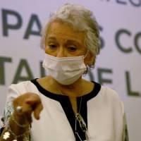 Olga Sánchez Cordero da negativo a segunda prueba de Covid-19