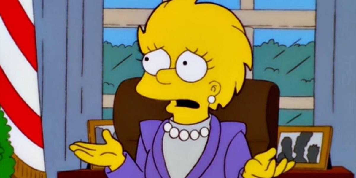 Nueva predicción de Los Simpson se hace realidad en Estados Unidos con la Vicepresidenta