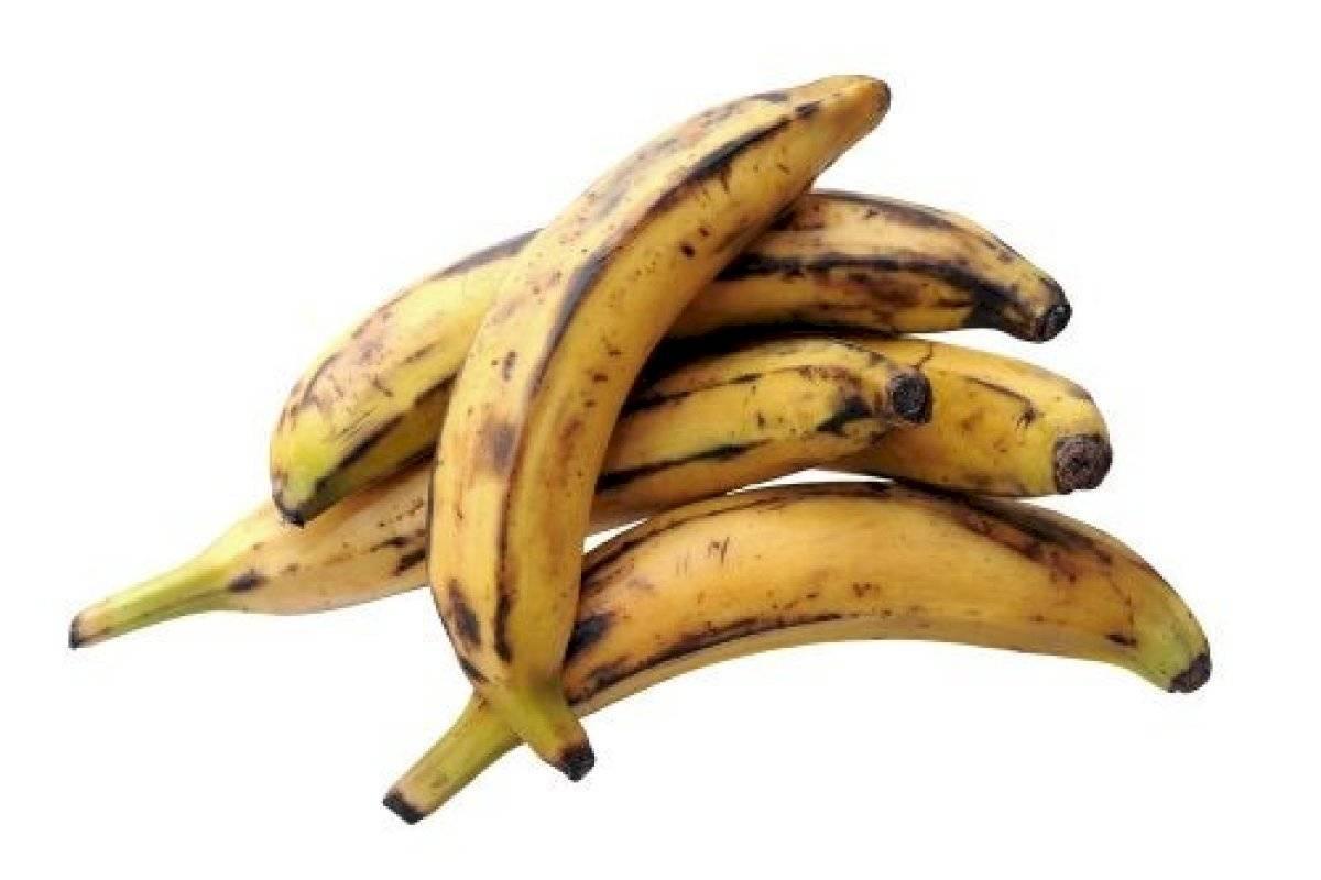 El plátano maduro tiene grandes propiedades para el organismo
