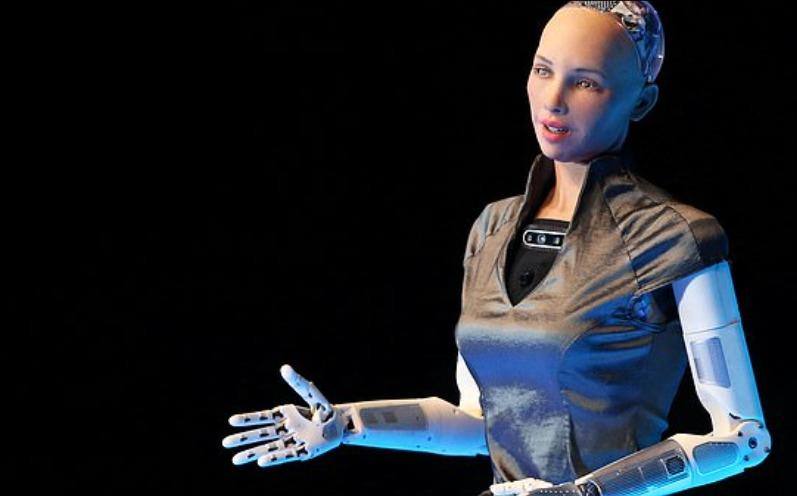Sophia, la robot.