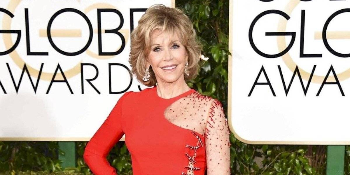 Jane Fonda recibirá importante premio en los Globos de Oro