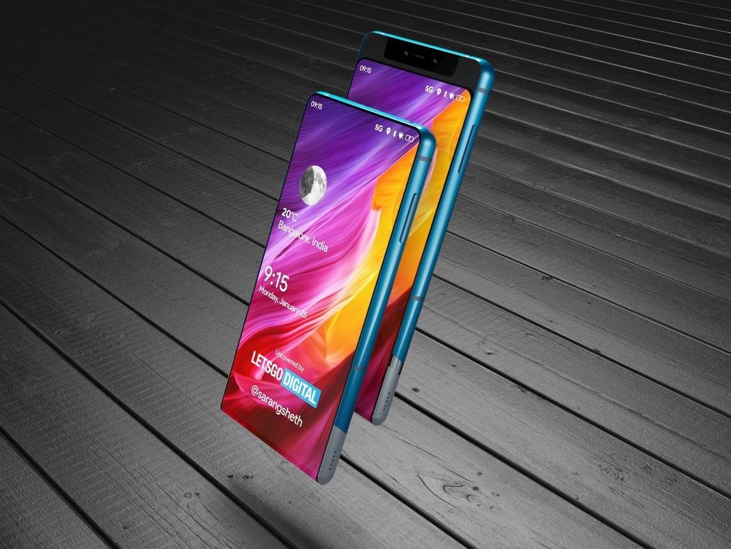 Xiaomi nos vuela la cabeza con su patente de un movil con monitor deslizante