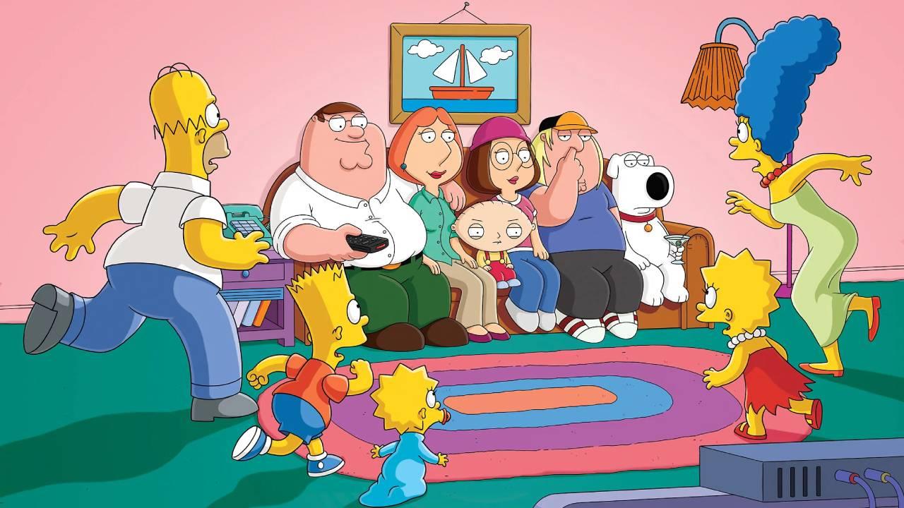 Los Simpson Family Guy