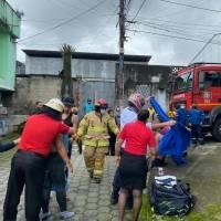 Dos heridos por explosión de un tanque de alcohol en Santo Domingo de los Tsáchilas