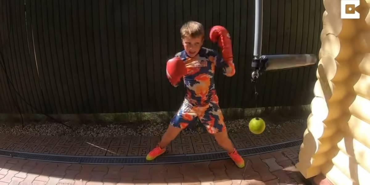 Desconecta.- Conoce a Nikita Kasyanov, el niño prodigio del boxeo de apenas 11 años