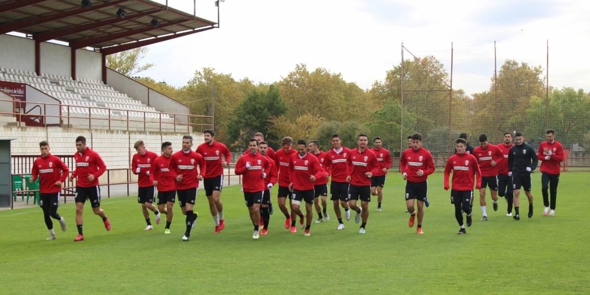 Fútbol.- Detectados cuatro positivos por COVID en la plantilla de la UD Logroñés