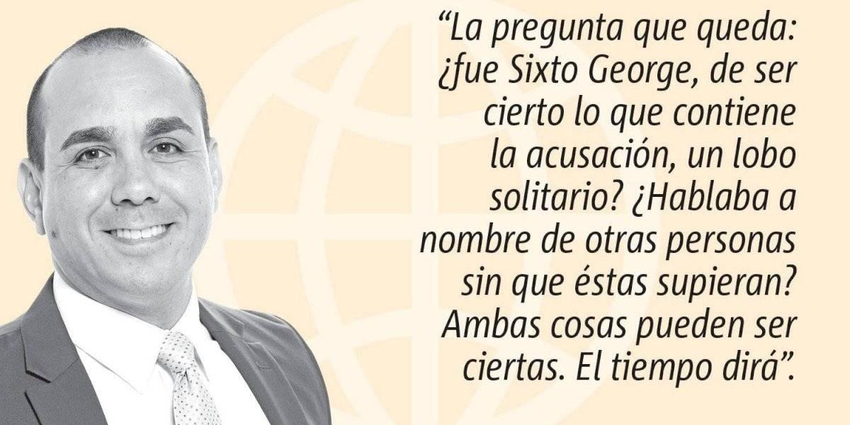 Opinión de Alex Delgado: De los Maldo a Sixto George