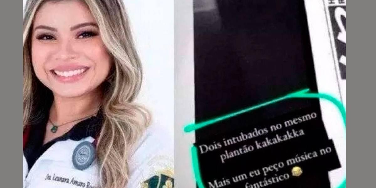 Médica faz piada com paciente intubado e desperta a ira dos internautas
