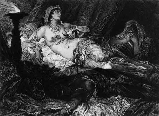 Muerte de Cleopatra.