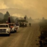 Un incendio en Argentina arrasa con más de siete mil  hectáreas de bosque