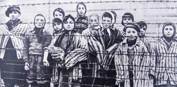 Sobrevivientes de Auschwitz - el Holocausto.