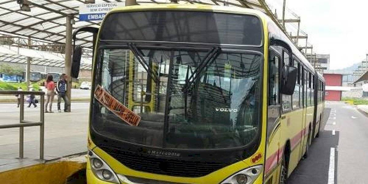 Los buses articulados del Corredor Central Norte dejarán de operar