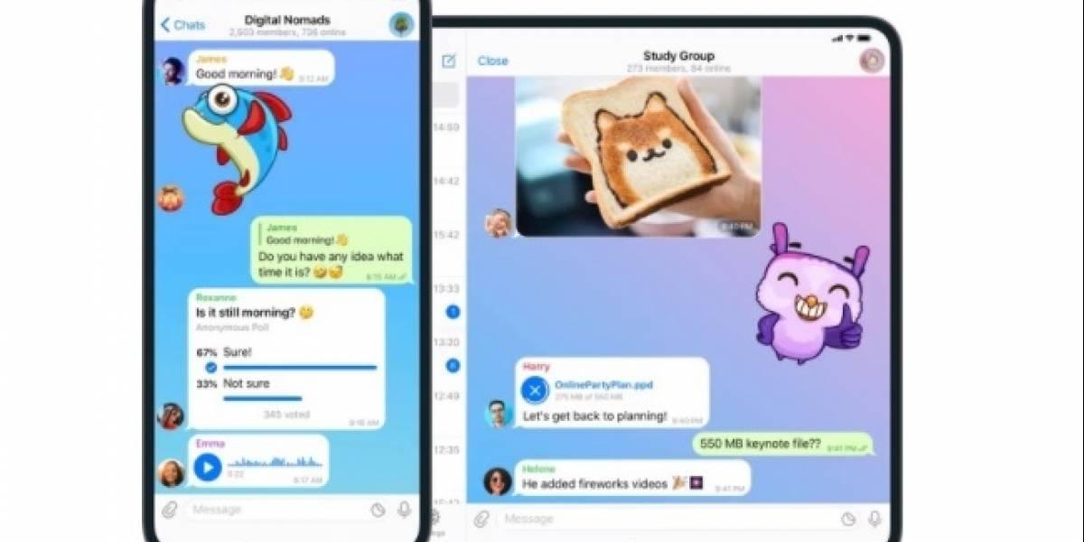 Telegram facilitará migración de chats de WhatsApp a su servicio