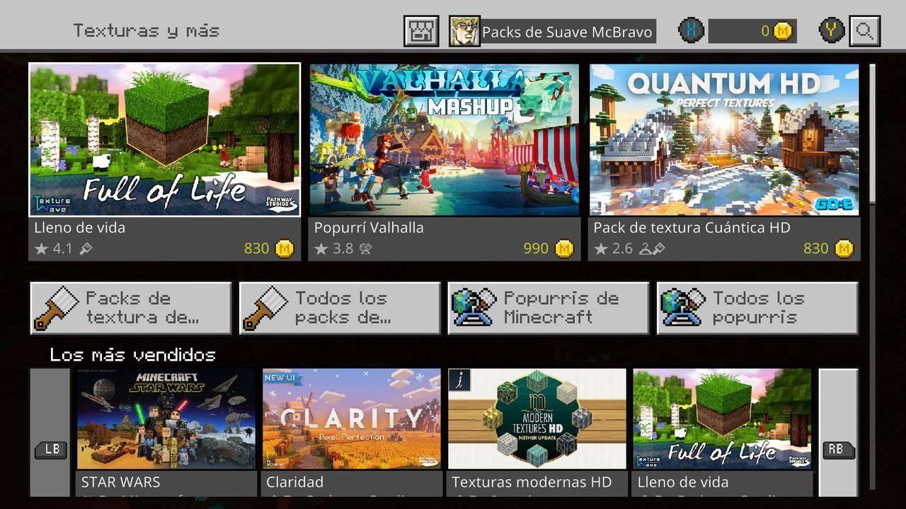 Minecraft Minecoins xbox