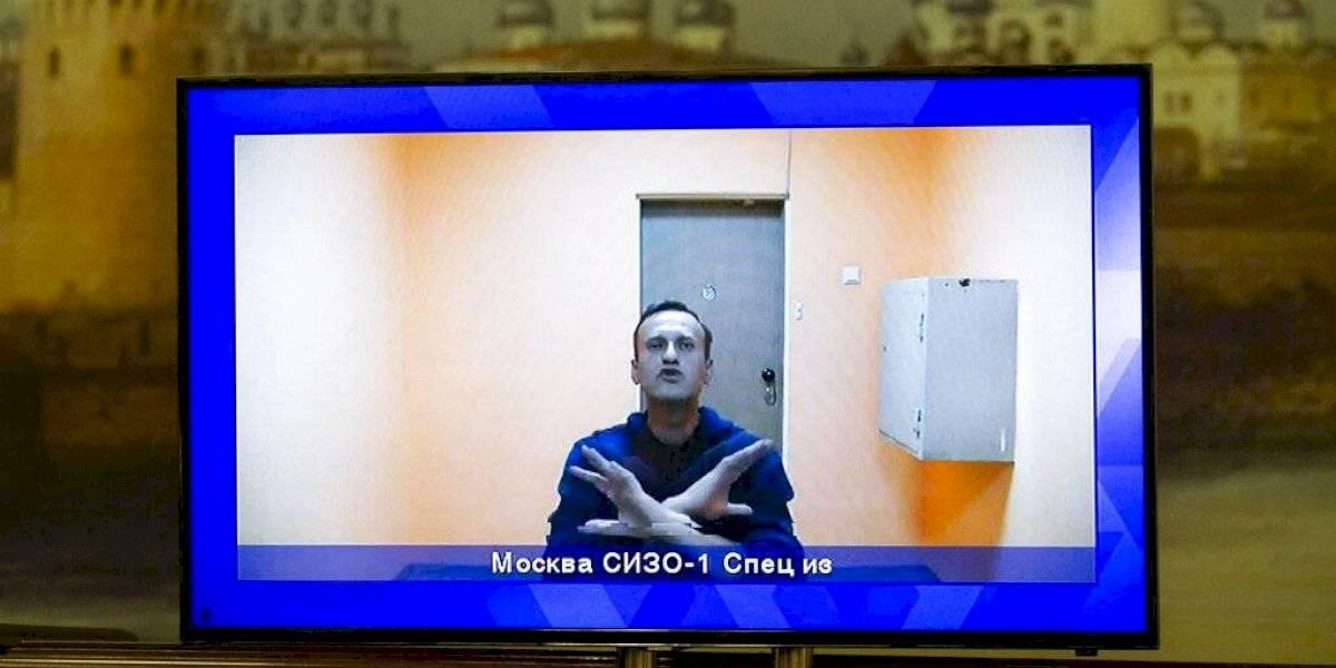 Tribunal ruso rechaza apelación de Navalny contra su arresto