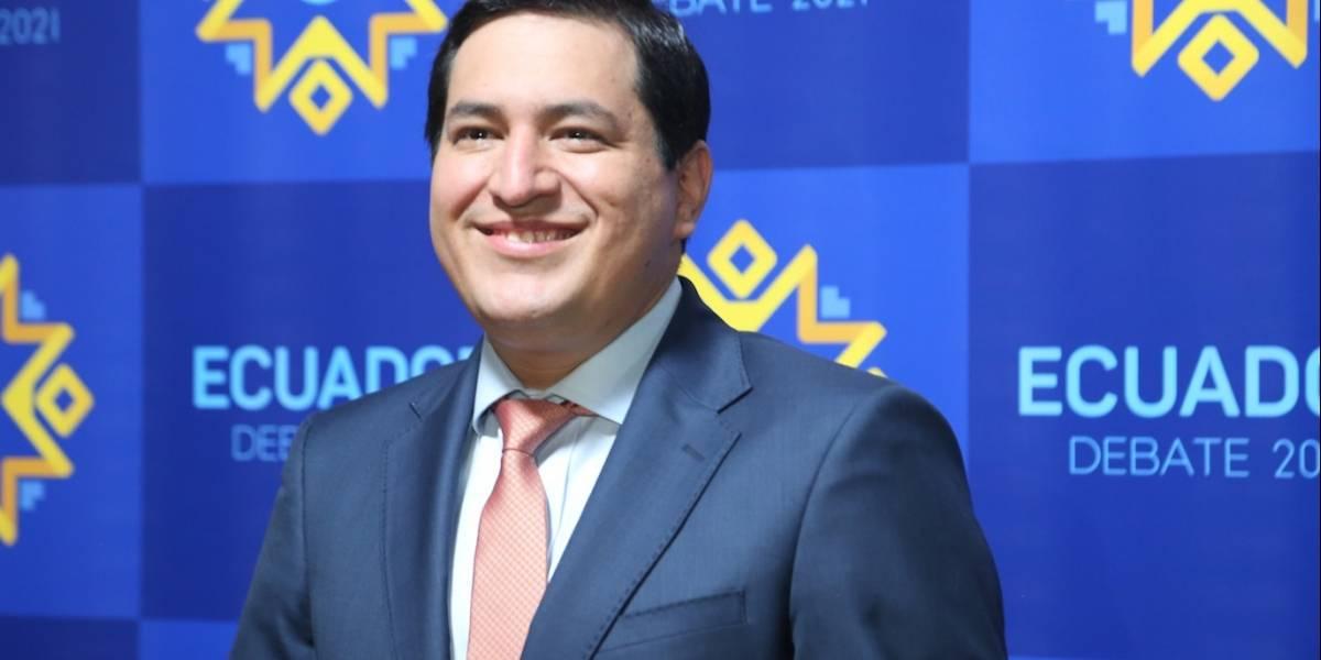 Elecciones 2021: Andrés Arauz pondrá énfasis en trabajo, acceso a vacunas y mejoras en la educación