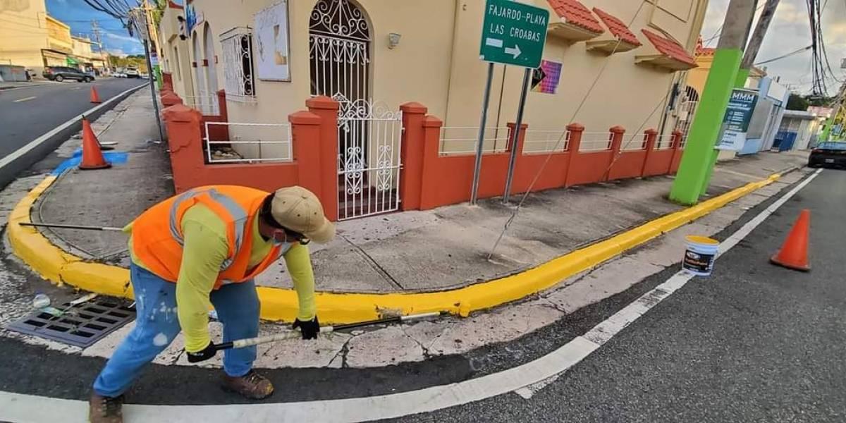 Inician campaña de limpieza y restauración en Fajardo
