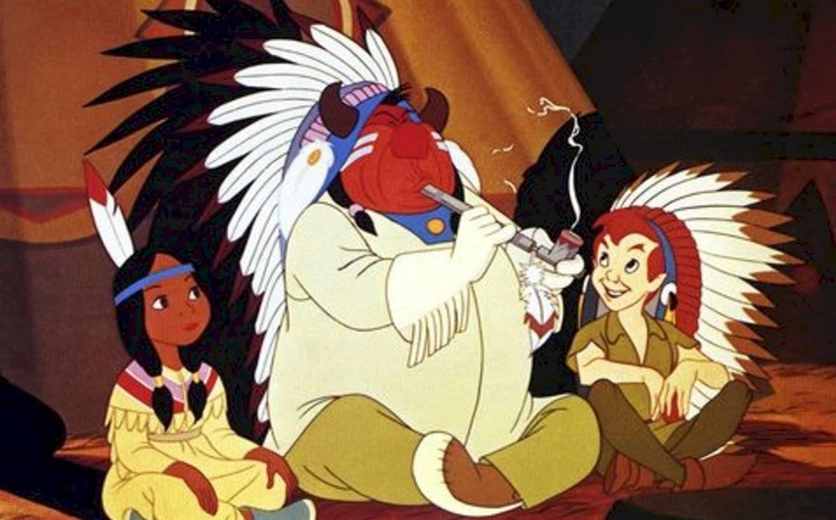 Peter Pan, otra de las películas que Disney restringe para los niños.
