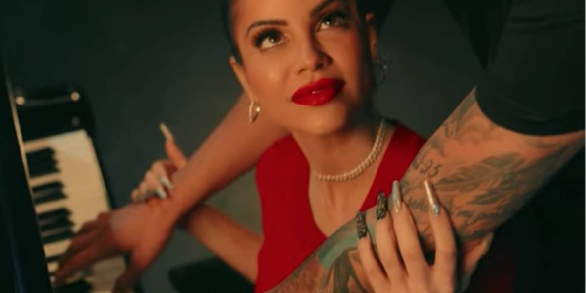 ¿Hacen público su amor? Video musical revelaría romance entre Natti Natasha y Pina
