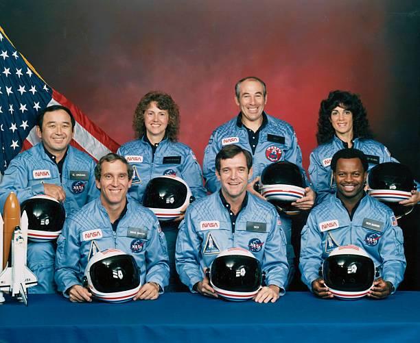 Tripulación del Challenger.